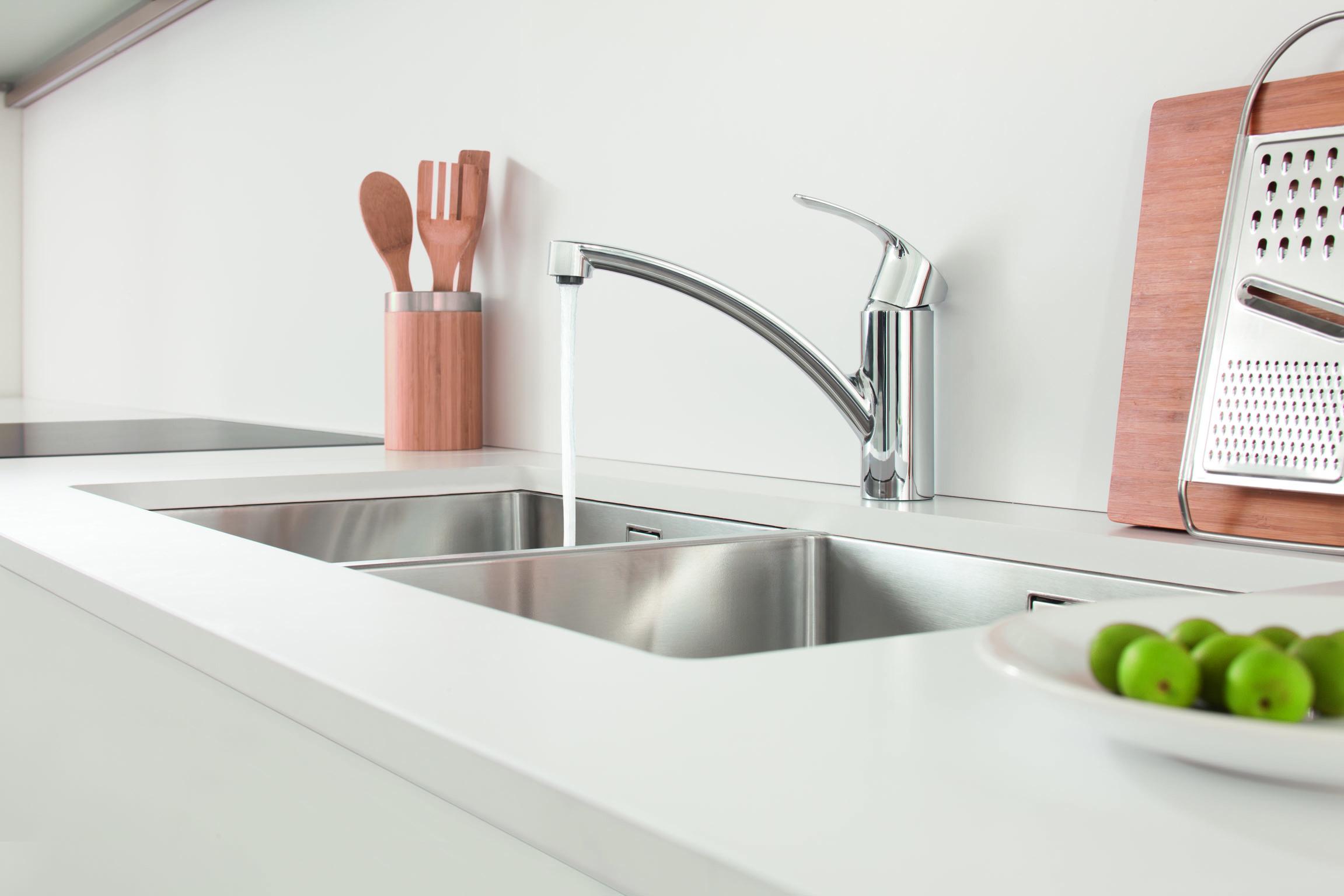 Torneiras – Living Kitchen 2015 #515724 2303x1535 Acessorios Banheiro Grohe